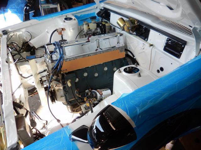 エンジンは、亀有の鍛造ピストン・強化パーツ一式、ヘッドはポート研磨・面研・バルブカイド入れ替え、ブロックはダミーボーリング・シリンダーブロック上下面研・・他 OH仕上げ済みです。