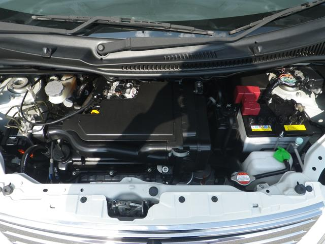 スチームがけでエンジンルームの汚れもしっかりクリーニング!エンジンルームがきれいだと不具合を発見しやすくなりますよ。