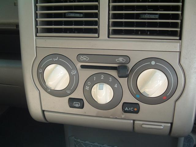 エアコンはマニュアルです。