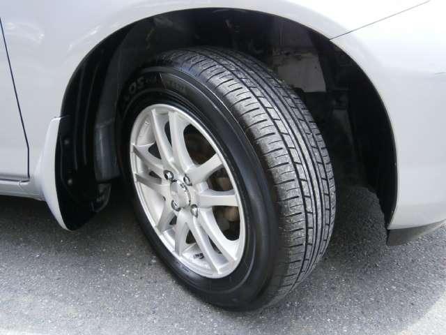 社外アルミ タイヤ溝十分あります