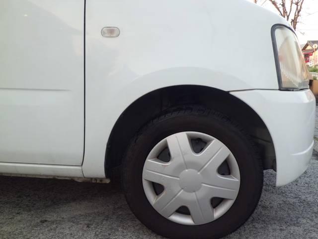 タイヤのサイズも標準ですが、維持費が安く済みます。