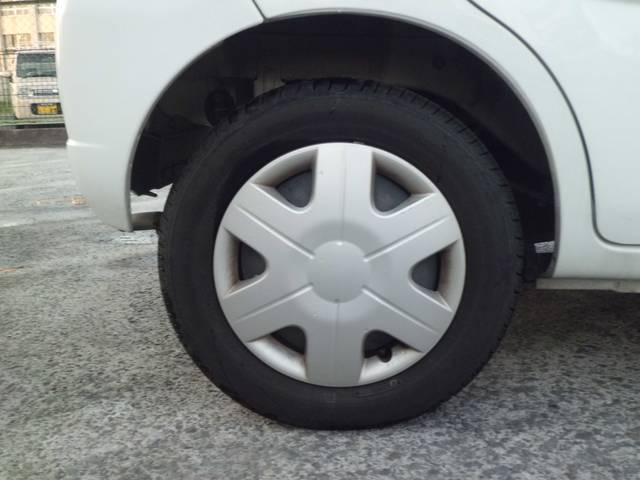 タイヤの残り溝もまだまだイケます。