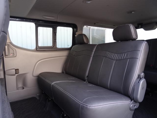 ライダーインテリアPK-GX 5ナンバー乗用車登録8人乗り(10枚目)