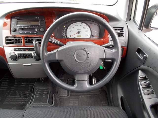 運転席正面画像です。