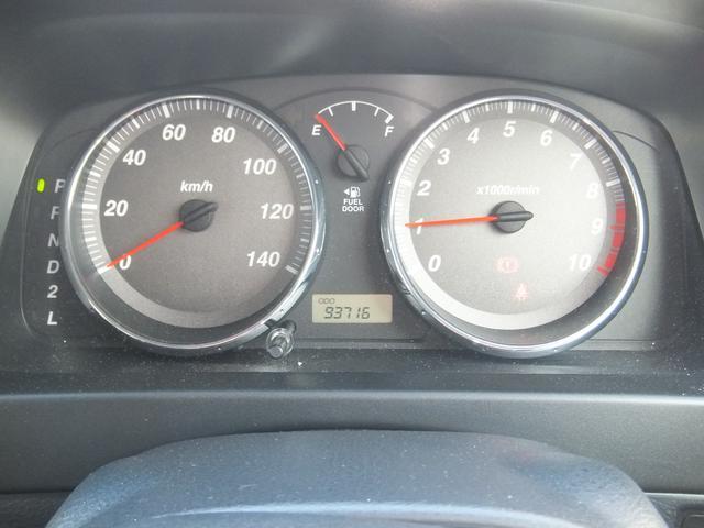 スポーティーなメーターパネル♪走行距離は93,716kmです!