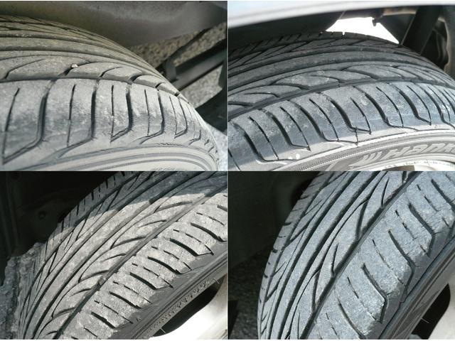 中古車を購入の上で見逃し易い箇所は、タイヤの溝ですよね!この車両はまだまだしっかりとタイヤの山も残っており、納車後の無駄な費用も必要ありませんね!【無料】0066−9703−493202
