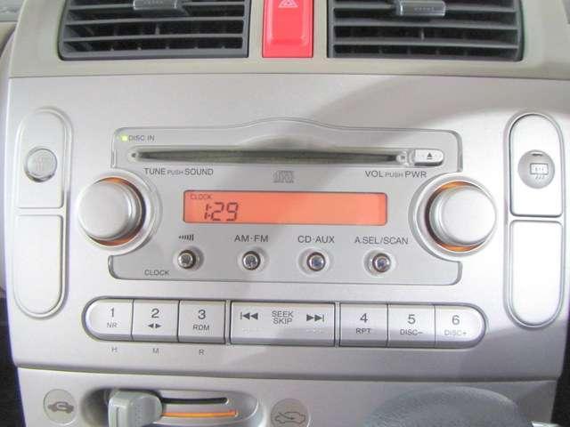 純正CDチューナーも付いてピュアなサウンドをお楽しみいただけます。