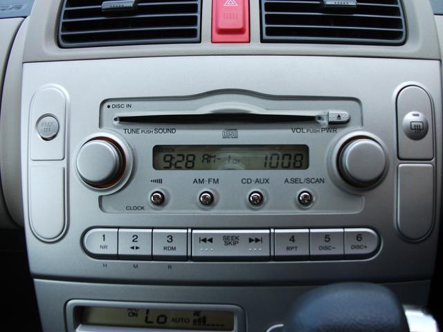 純正オーディオ搭載 運転中の音楽はお任せ
