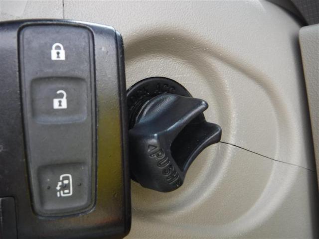 """スマートキーを携行していればカギを挿すことなくエンジンを始動できちゃいます!いちいちカギを探さなくてよいので本当に""""スマート""""に乗り降りできますよ♪"""