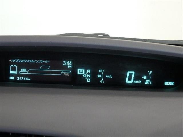 視点移動が極力少ないセンターメーター、ロングドライブでも疲れにくく安全運転に貢献します。