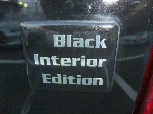 特別仕様車です。室内黒。