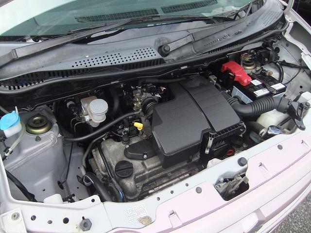 走行48000キロしか走ってない、エンジンです。程度抜群。GOO保証3年対象車です。安心です。納車前には2級整備士による点検整備を行っていますので、安心してお乗りいただけます。
