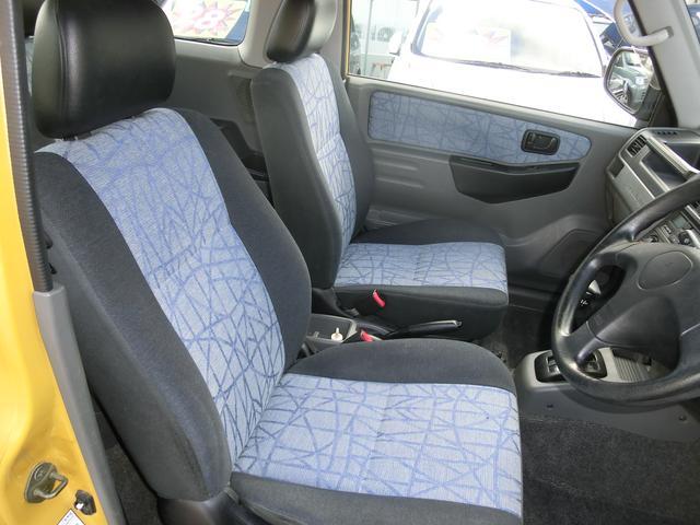 フロントシートの画像です。キレ ヤブレ 汚れ等もなく、とても清潔な状態です。