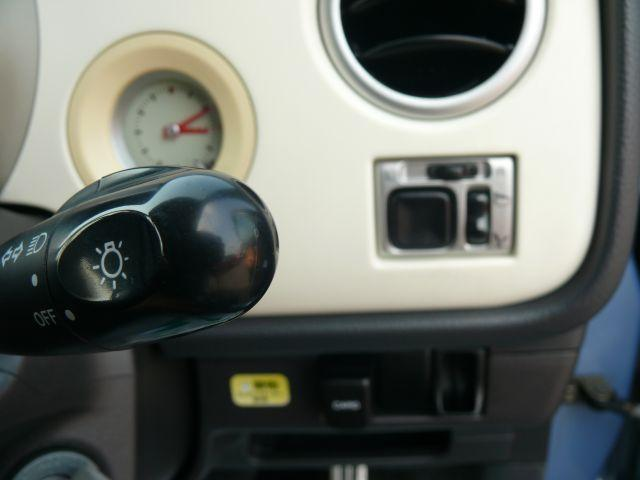 電動格納ミラー♪サイドミラーの出し入れがボタン一つで出来、狭い駐車場でも止めやすい♪