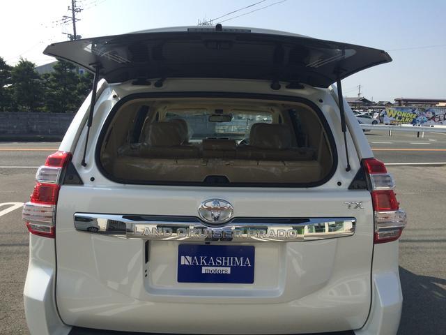 TX Lパッケージ 本革シート サンルーフ 登録済未使用車(9枚目)