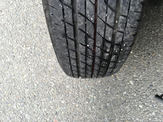 タイヤの目もしっかりあります◎