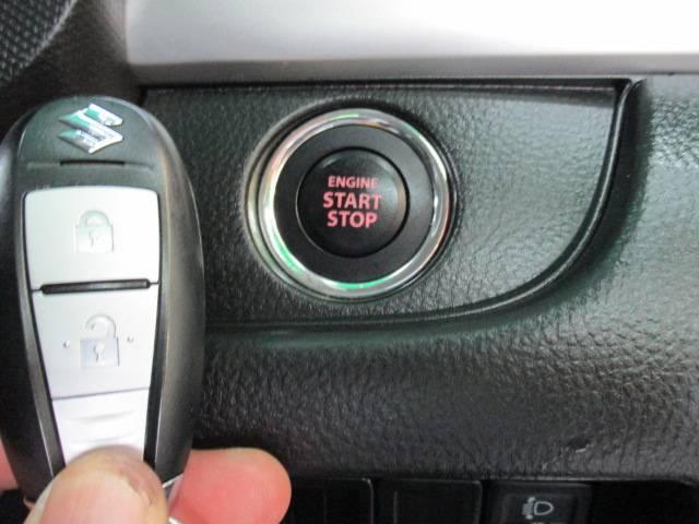 スマートキープッシュスタート♪鍵をささずブレーキペダルを踏みながらスイッチを押すだけでエンジン始動できます♪