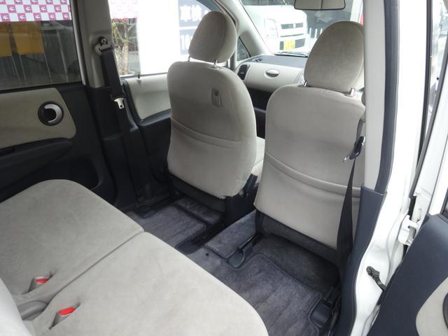 シート位置によってはかなり広いスペースになりますよ。