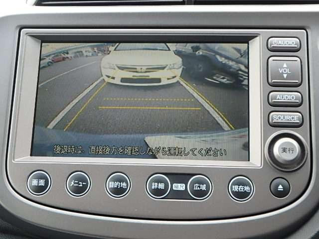 ガイド線表示つきのバックカメラです!いつでも安全にバックできますね。