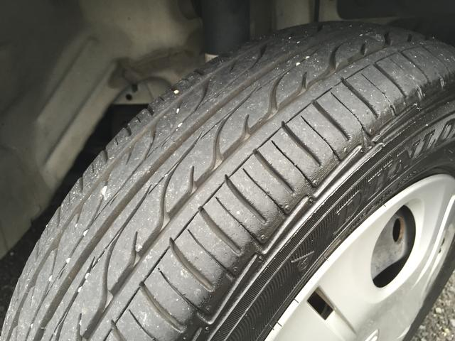 タイヤ目もしっかりございます