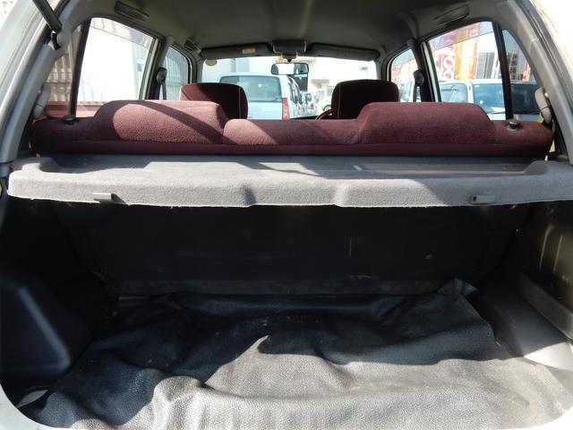 トランクも十分なスペースを確保しております♪ベビーカーもすんなり収納出来ます!