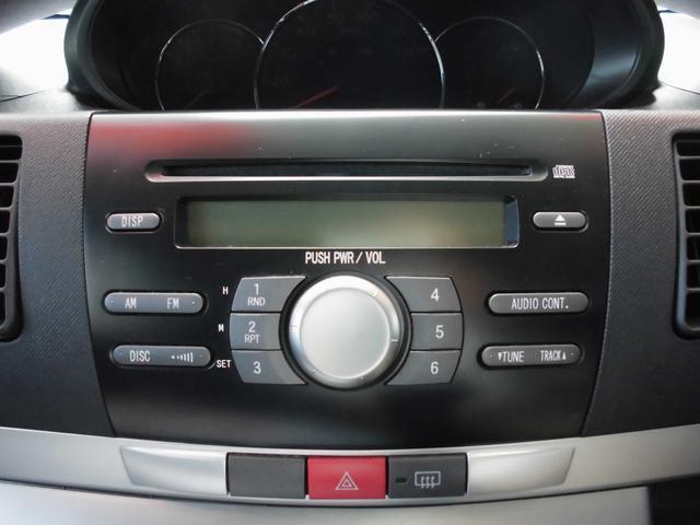 CDが聴けるオーディオを装備。勿論ラジオも聴けます。