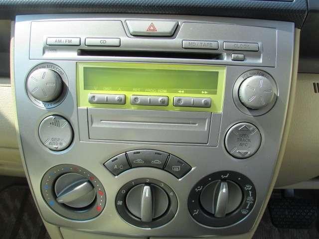 CDデッキ付き♪お好きな音楽を流してお楽しみください♪