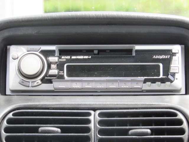 社外デッキ付き♪お好きな音楽を流して運転等をお楽しみください♪