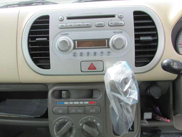 CDデッキ付き♪お好きな音楽を流して運転等をお楽しみください♪