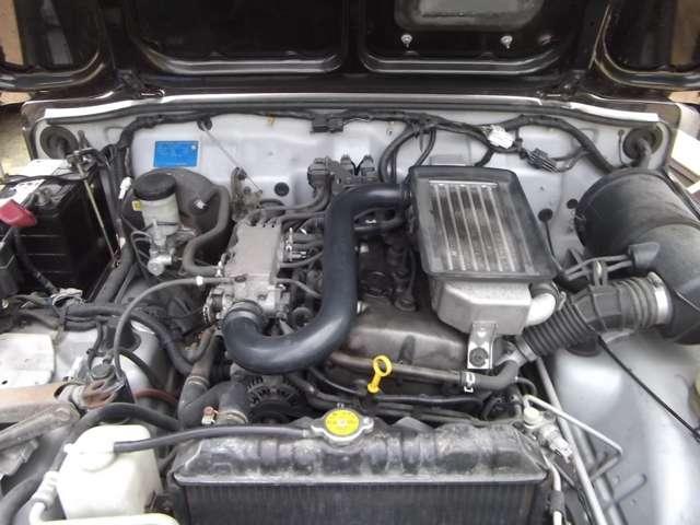 XC 背面ハードタイヤカバー 4WD ターボ(3枚目)