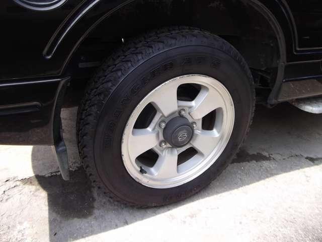 XC 背面ハードタイヤカバー 4WD ターボ(13枚目)