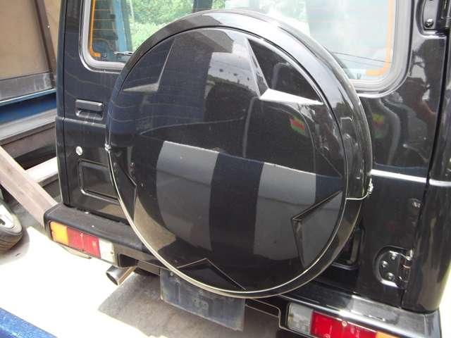 XC 背面ハードタイヤカバー 4WD ターボ(15枚目)