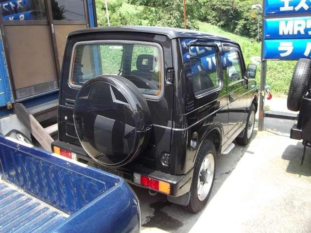 XC 背面ハードタイヤカバー 4WD ターボ(16枚目)