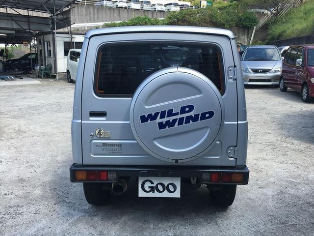 ワイルドウインドリミテッド 4WD ターボ ETC(5枚目)
