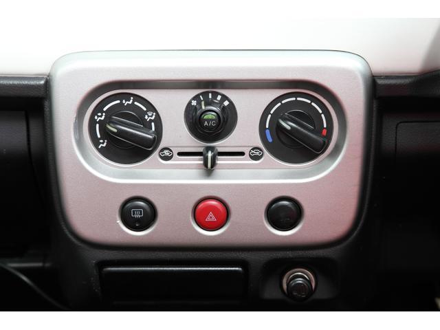 ダイヤル式のエアコン操作パネルです。暑い日も、寒い日も安心してドライブが楽しめます!
