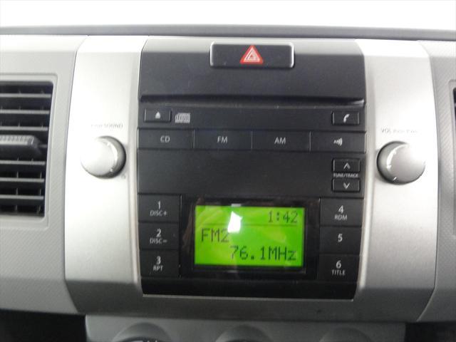 純正オーディオ・CD ラジオもきけますよ。