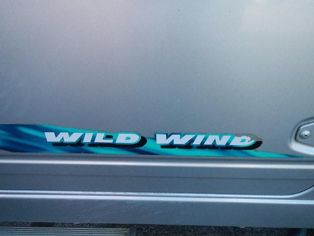 グレードはワイルドウィンドウ 現在はステッカーははがしてあります。