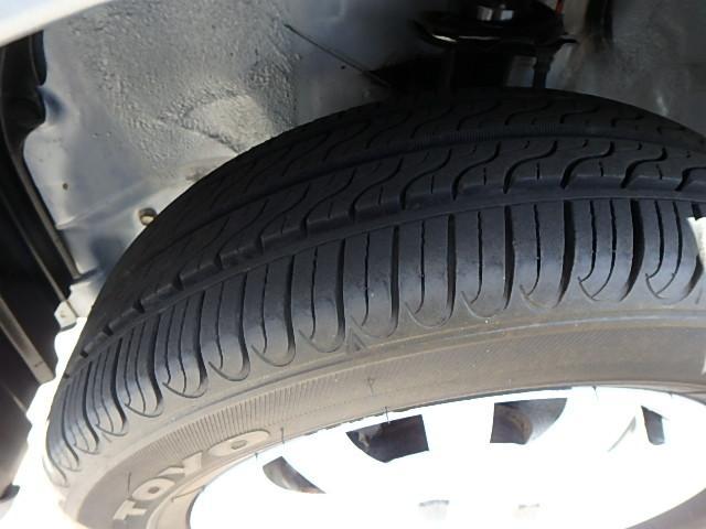 タイヤもバリ溝です!