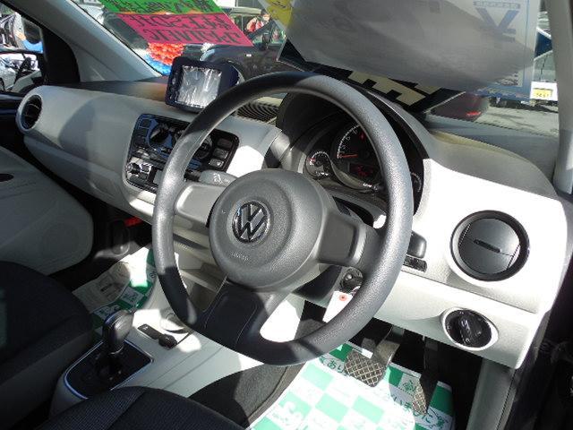フォルクスワーゲン VW アップ! ムーブ アップ!純正SDナビワンセグワンオーナー