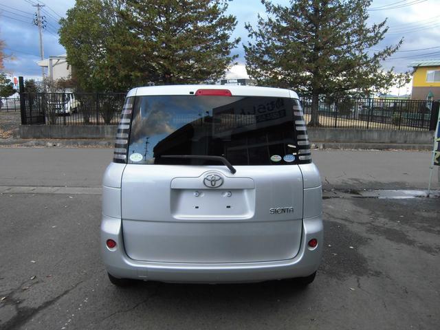 トヨタ シエンタ X キーレスエントリーシステム 当社無償保証付