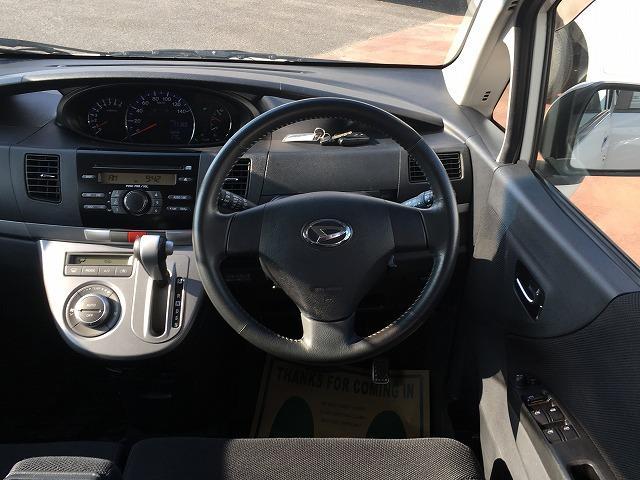 ダイハツ ムーヴ カスタム Xリミテッド 4WD オーバーヘッドコンソール