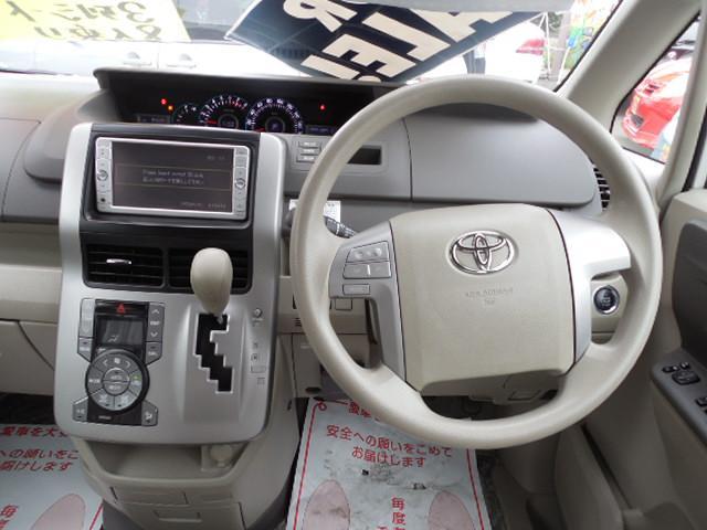 トヨタ ノア X スマートエディション純正SDナビ両側パワスラ