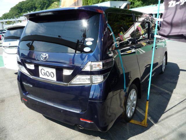 トヨタ ヴェルファイア 2.4Z HID 両側パワースライドドア