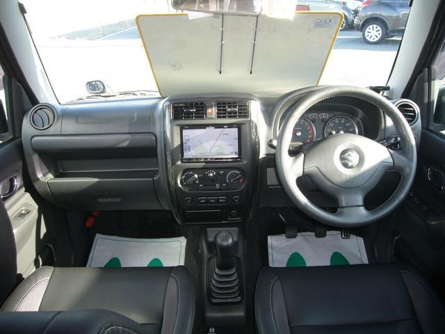 スズキ ジムニー クロスアドベンチャーXC 社外メモリーナビ フルセグ 4WD