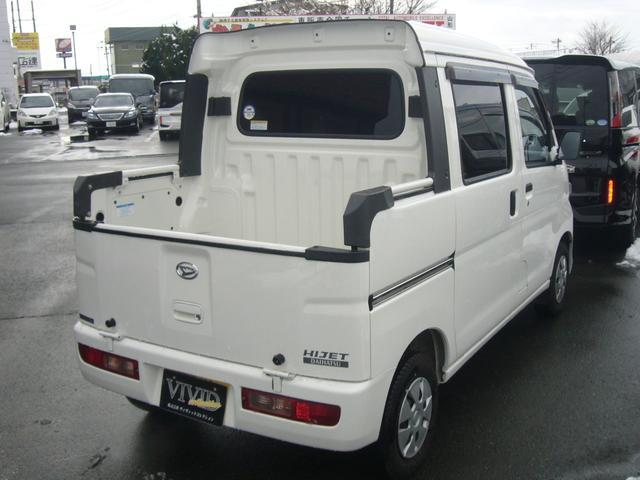 ダイハツ ハイゼットカーゴ デッキバンGL 純正CD モケットシート ABS 4WD