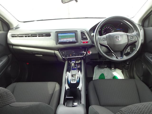 ホンダ ヴェゼル ハイブリッドX 4WD ナビTV LEDヘッドライト