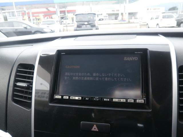 サンヨーHDDナビ・フルセグTV・DVD・CD・MS!