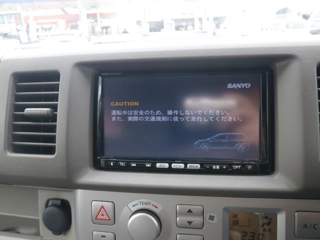 純正SDナビ・フルセグTV・DVD・CD・MS!