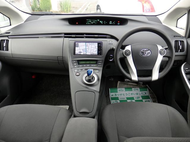 トヨタ プリウス S HDDナビ キーフリー プッシュスタート