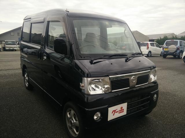 日産 クリッパーリオ G FOUR スペシャルパック 4WD アルミ ABS